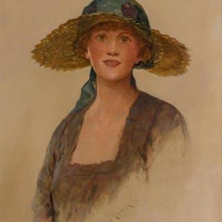SYDNEY PERCY KENDRICK, British (1874-1955), Edwardian Woman
