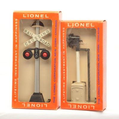 Lionel Postwar 154 Highway Signal 163 Target Block Signal Bo