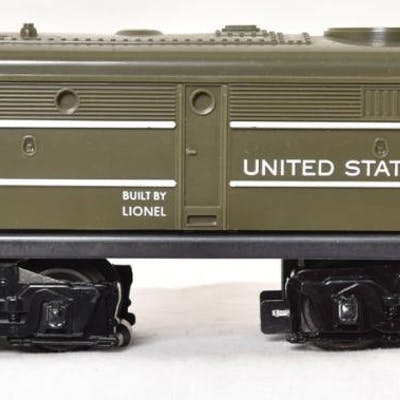 Lionel Postwar Olive Drab 221 USMC Alco Diesel