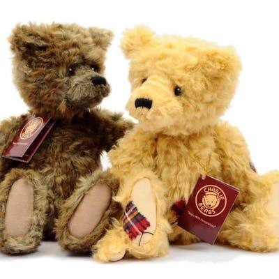 Charlie Bears teddy bears, designed by Heather