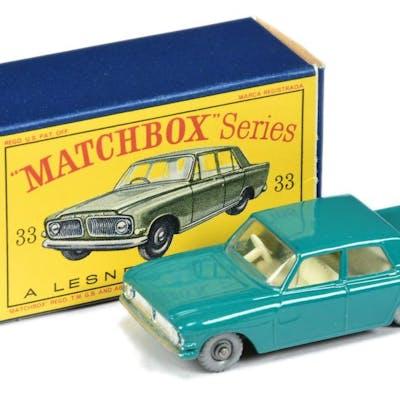 Matchbox Regular Wheels 33b Ford Zephyr 6 - dark