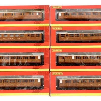 GRP inc Hornby (China) LNER teak Gresley style