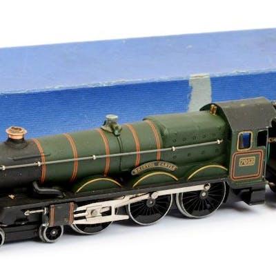 Hornby Dublo 3-rail EDLT20 4-6-0 BR green Castle