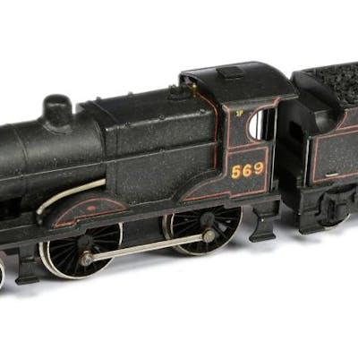 OO Gauge Kitbuilt 4-4-0 LMS lined black 2P Class