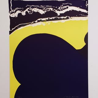 """Evolution"" Serigraph by J. Gardy Artigas. 50x64 cm"