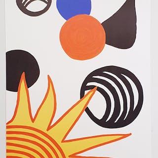 """Joie du Neophyte"" Lithograph by Alexander Calder. 52x71 cm"