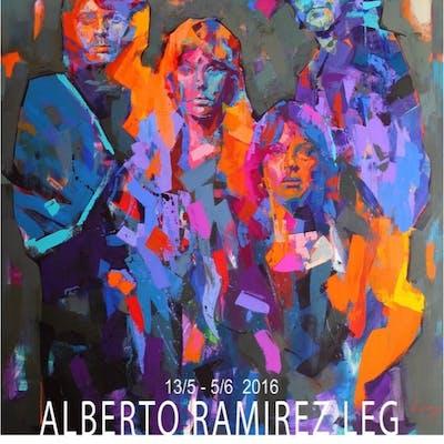 """ABBA"" Signed exhibitionposter by Alberto Ramirez LEG 50 x 70 cm"