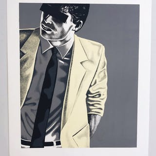 """MR X"" Art Giclée by Thomas Hafström MR X. 60 x 73,5 cm"