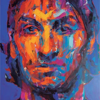 """""""Zlatan""""- Limited Edition Poster by LEG. 50x70 cm"""