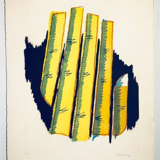 """No title"" Lithograph by Man Ray. 57 x 76 cm"