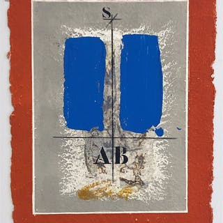 """No title"" Carborundum etching by James Coignard. 29,5 x 39 cm"
