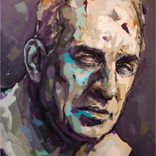 Ingmar Bergman (70´s) 180x130 cm by Alberto Ramirez LEG (Bergman)