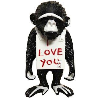 """""""I Love You"""" Streetmonkey by Diedrik van Apple"""