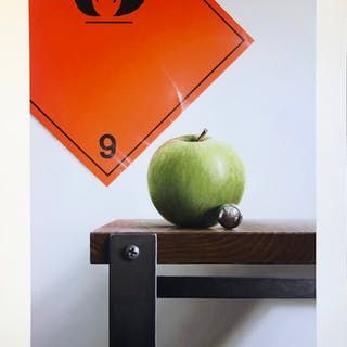 """""""No Title"""" Hand colored Art Giclée by Jonas Brodin. Edition of 50. AAF. (ZB)"""