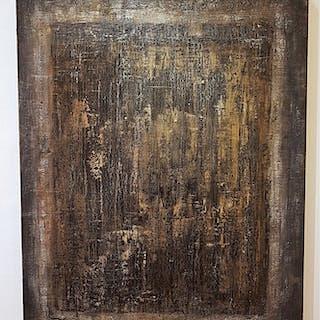 """Secret"" Mixed media by James Cummins. 80 x 100 cm"