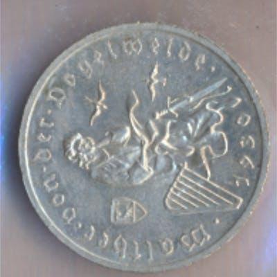 Deutsches Reich Jägernr: 344 1930 G vorzüglich Silber 1930 3 Reichsmark