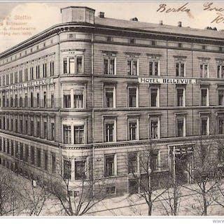 Stettin Hotel Bellevue Lindenstraße 1 an der Hauptwache Besitzer Georg