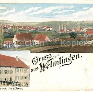 33148611 Welmlingen Gasthaus zum Hirschen  Welmlingen