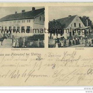 Kuibyschewskoje (Kaliningrad) - Petersdorf bei Wehlau - Gasthaus Ehleben