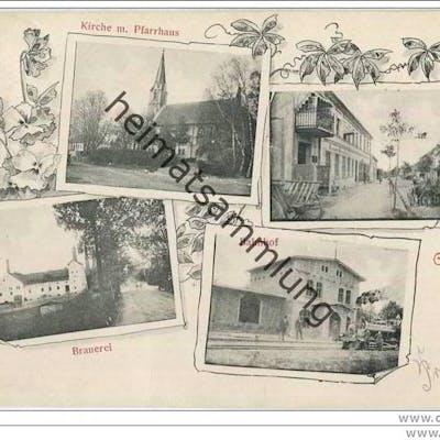Krasnosnamensk - Lasdehnen - Bahnhof - Brauerei