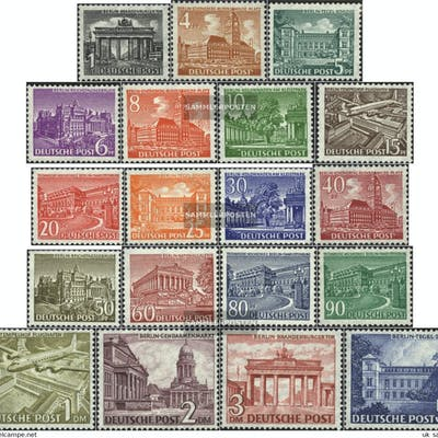 Berlin (West) 42-60 (complete.issue.) unmounted mint / never hinged