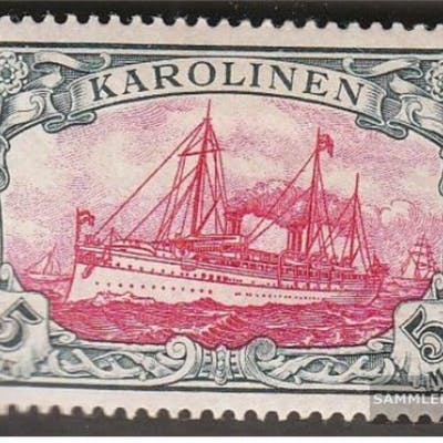 Carolines (German.Colony) 19 unmounted mint / never hinged 1901 Ship