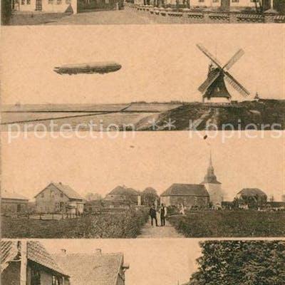 33148623 Brokdorf Holstein Strassenansichten Zeppelin  Brokdorf