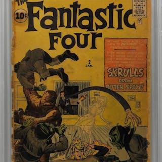 Marvel Comics Fantastic Four #2 CBCS 1.5