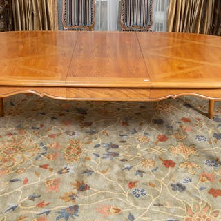 Contemporary Louis XV Style Dining Table
