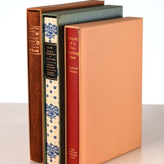 BOOKS: (3) Vols LEC, Memoir & Biography