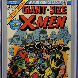 Marvel Comics Giant Size X-Men #1 CGC 7.0