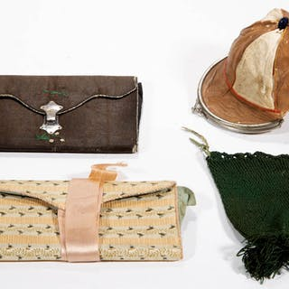 ASSORTED PURSES, LOT OF FOUR