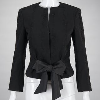Richard Tyler Couture embellished evening jacket