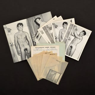 Bruce Bellas Nude Photos, Negatives, Catalog & Ephemera - Bruce Bellas