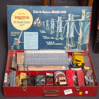 "Gilbert #12 1/2 Erector ""Remote Control"" Set"