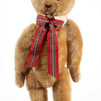 "POSSIBLY IDEAL ""WOODY"" MOHAIR TEDDY BEAR"