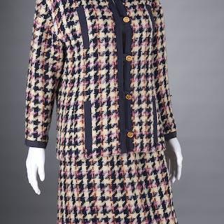 Chanel Boutique multicolor tweed boucle jacket