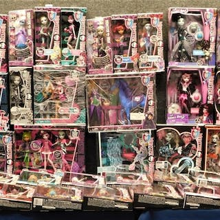52PC Mattel Monster High Toy Doll Collection