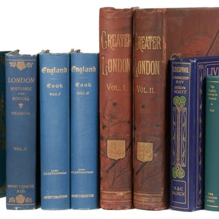 (6) TITLES IN (9 VOLS) BOOKS ON ENGLAND