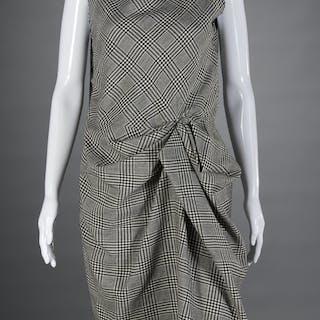 Jeanne Lanvin draped day dress