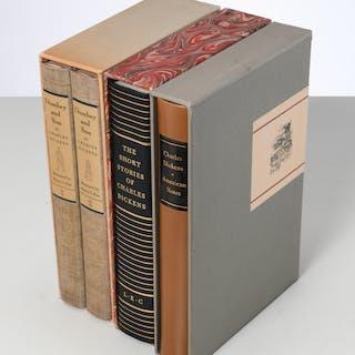 BOOKS: (3) vols LEC, Charles Dickens