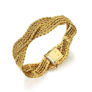 Bulgari Braided Bracelet