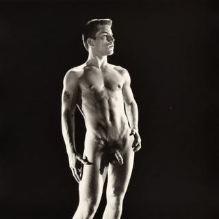 Large Nude Joe Dallesandro Photo, Bruce Bellas Estate - Bruce Bellas