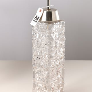 Carl Fagerlund (attrib.), modern glass table lamp