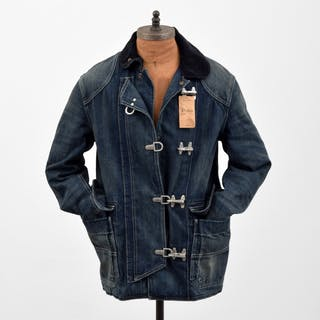 Ralph Lauren Polo Woven Denim Jacket, Men's Small - Ralph Lauren POLO