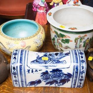 Three Chinese Ceramic Pots