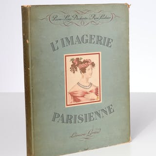 BOOKS: L'Imagerie Parisienne, hand-colored plates