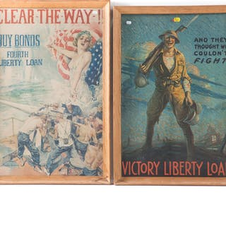Two Reproduction World War I Liberty Loan Posters