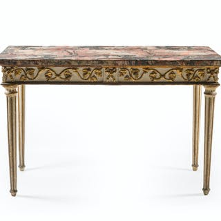 An Italian console table
