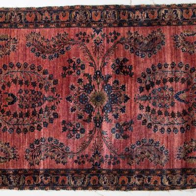 Antique Sarouk Rug, Persia, 4 x 6.7